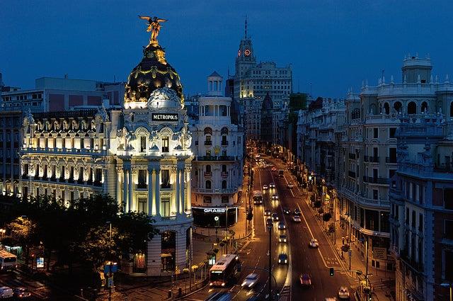 Madrid de nuit - blog GO Voyages