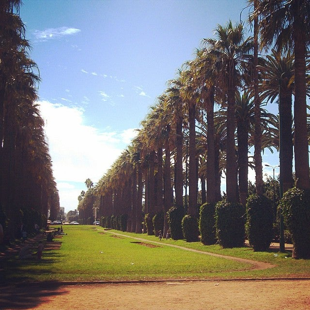 Parc de la ligue arabe Casablanca