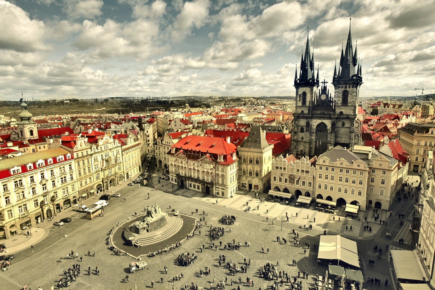 place de la vieille-ville prague - blog GO Voyages