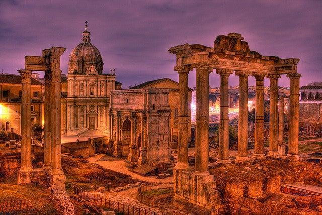 rome ruines romaines - blog GO Voyages