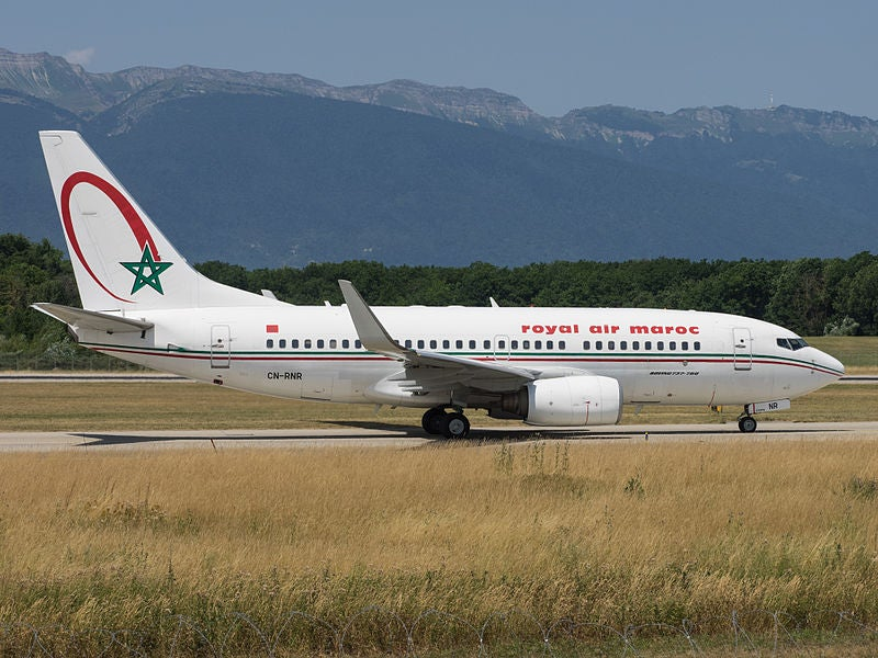 lenregistrement au comptoir royal air maroc