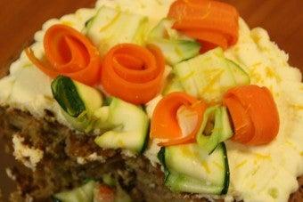 Carotte-Courgette Cake
