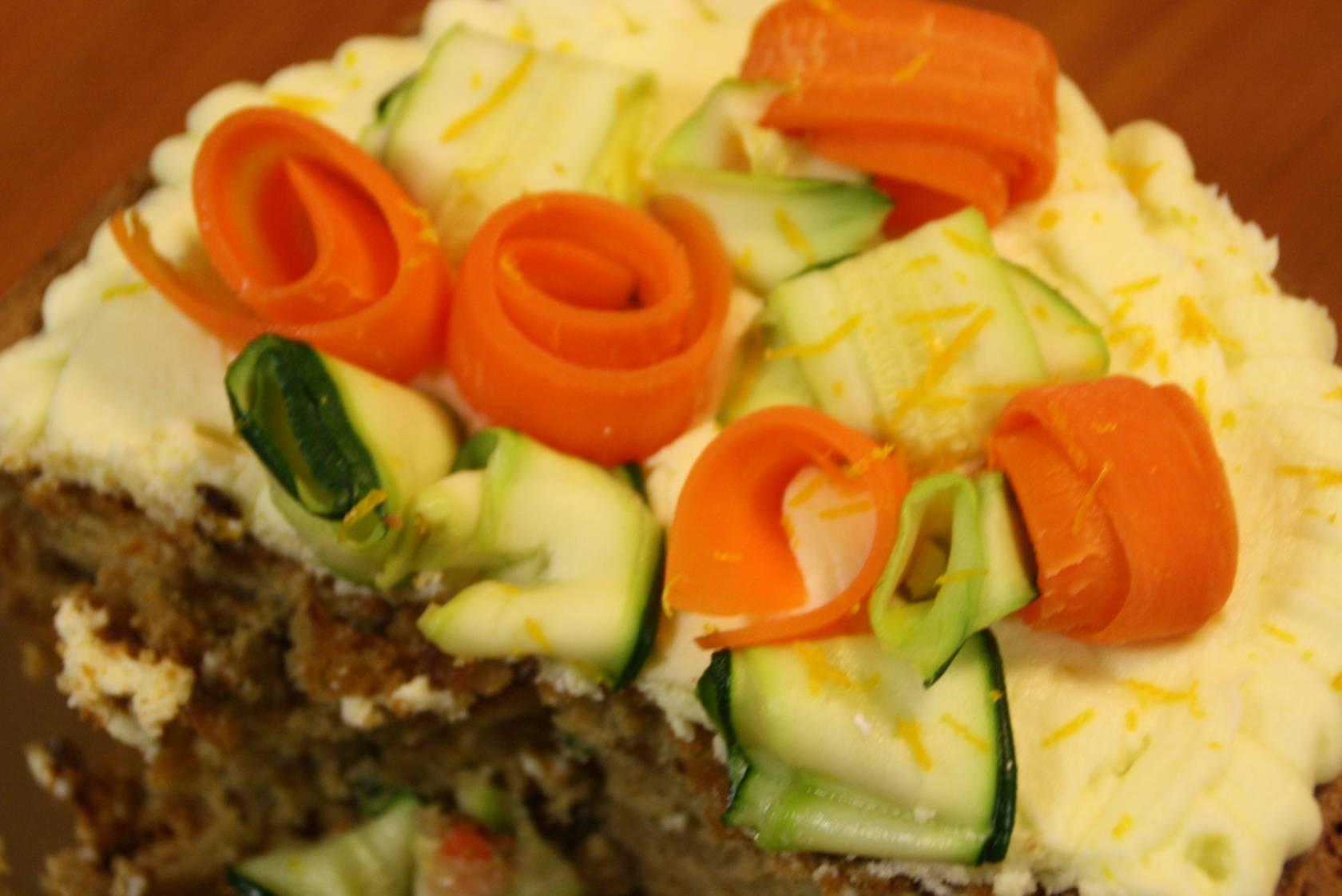 Cake A La Carotte Et Courgette