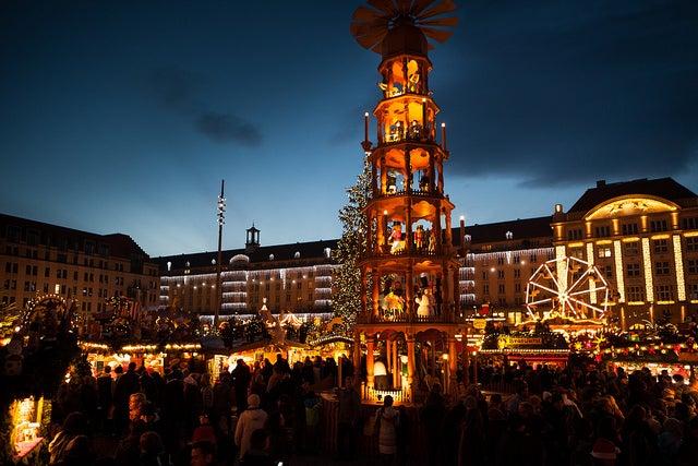 Marché de noël de Dresde - blog GO Voyages