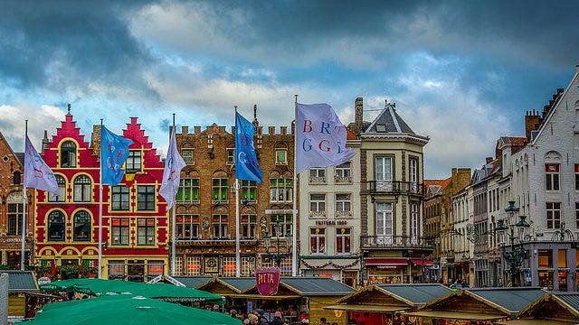 Marché noël Bruges