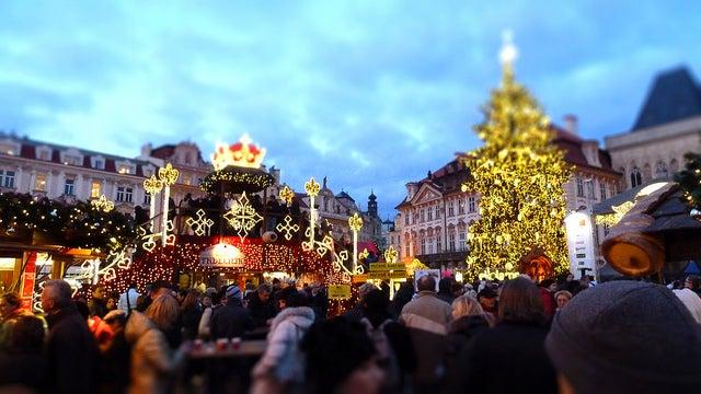 Marché de Noël Prague - blog GO Voyages
