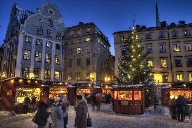 Marché de Noël Stockholm - blog GO Voyages