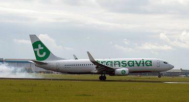L'enregistrement sur un vol Transavia