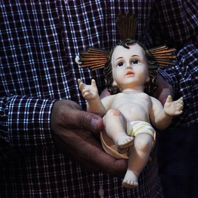 paradura del niño jesus
