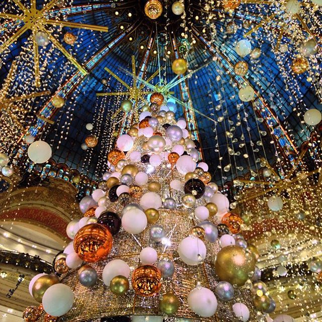 Debut Decoration Noel Paris