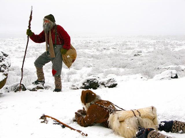 Yulemen islande neige - blog go voyages
