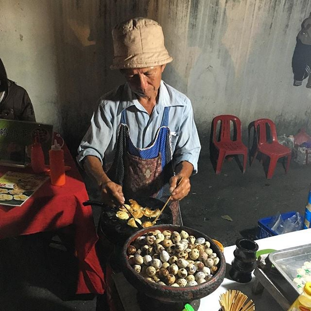oeufs de caille thailande