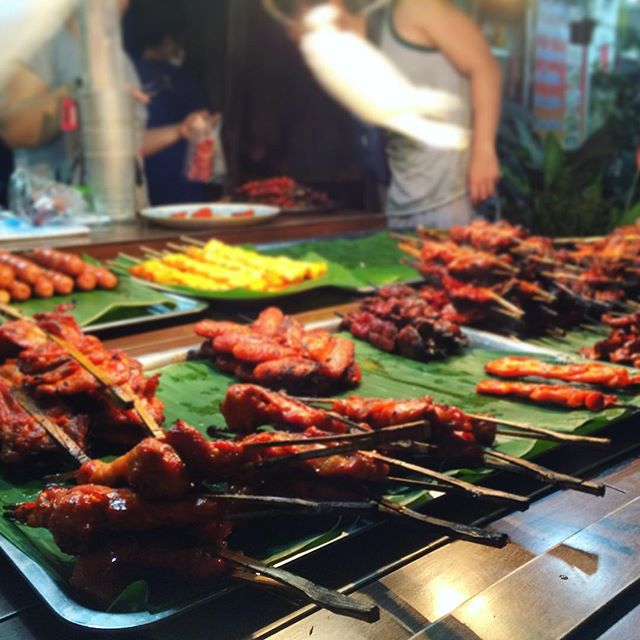 brochettes thailande