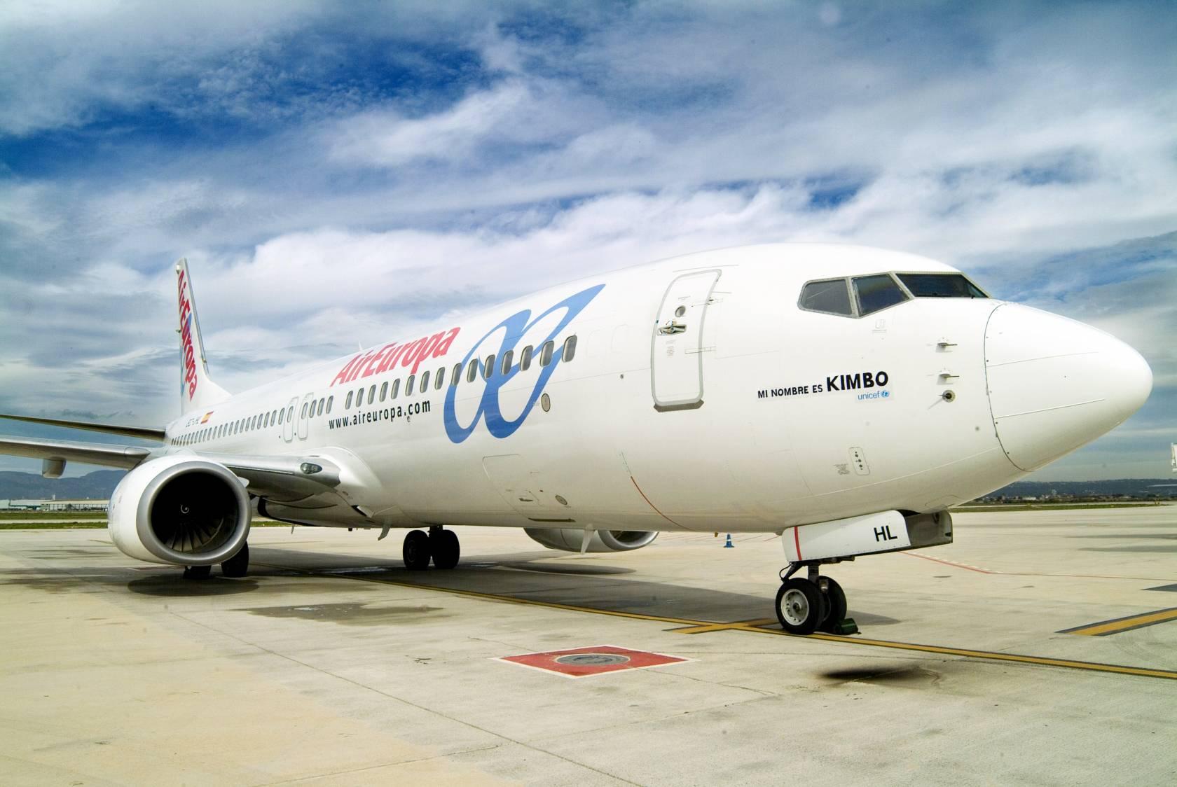 Air Europa Unicef Kimbo