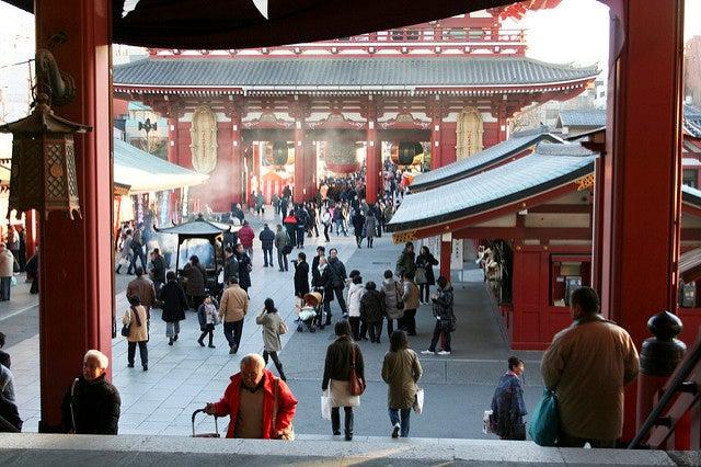 asakusa temple tokyo - blog GO Voyages