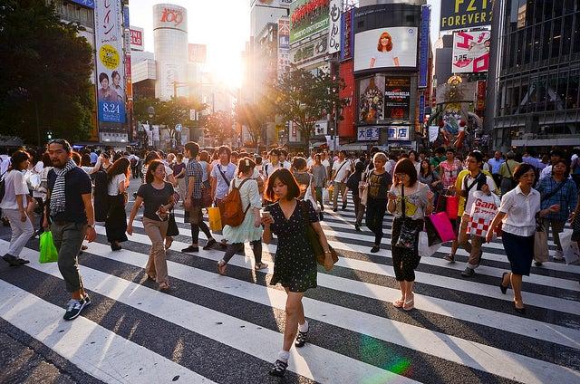shibuya passage piéton tokyo - blog GO Voyages