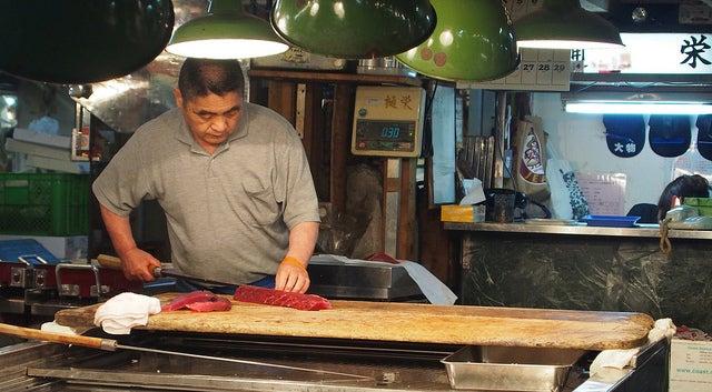 tsukiji marché poissons tokyo - blog GO Voyages
