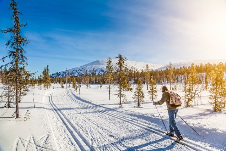 ski neige finlande - blog go voyages