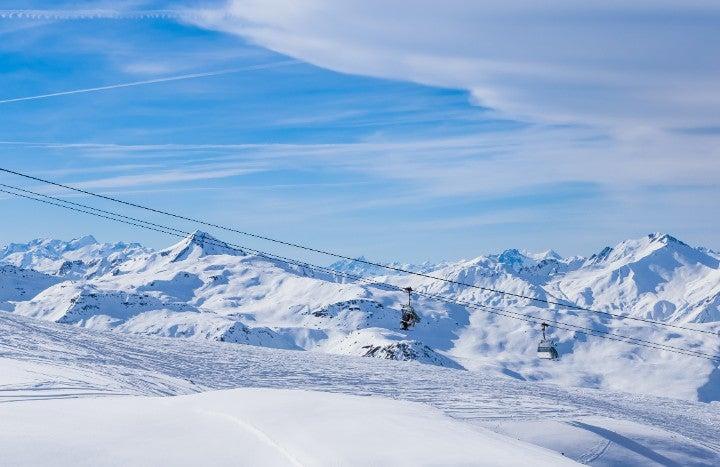 ski val thorens france - blog go voyages