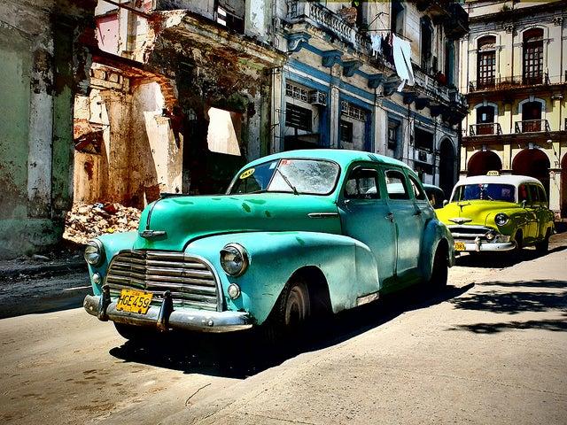 La Havane voiture - blog go voyages