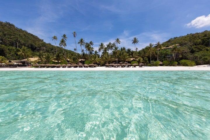 ile malaisie eau turquoise - blog go voyages