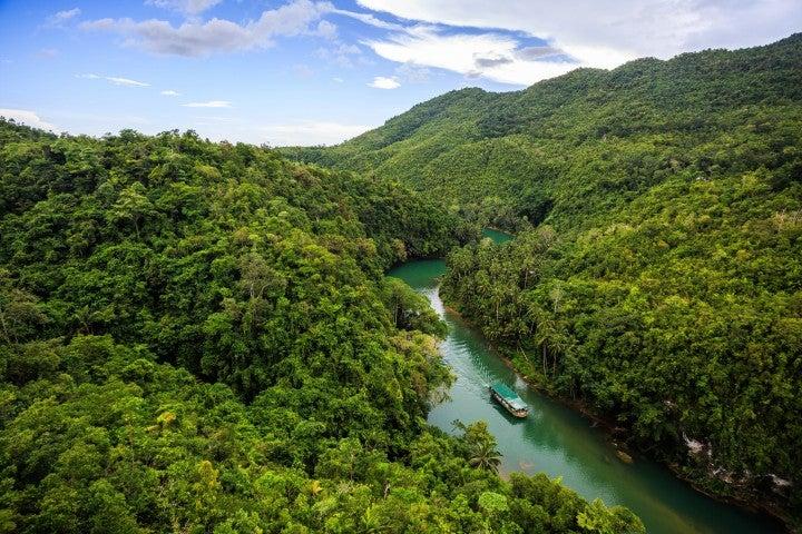 fleuve phillipines bateau - blog go voyages
