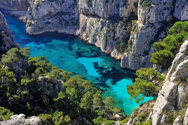 calanques d'en vau - plus belle plage d europe - blog voyage GO Voyages