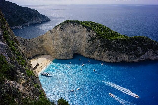plage du naufrage zakynthos - plus belle plage d europe - blog voyage GO Voyages