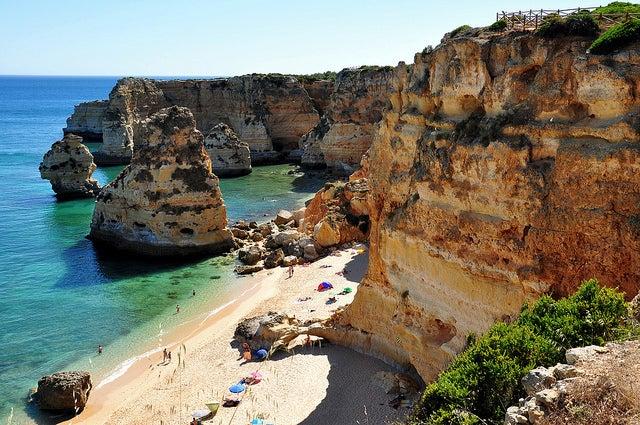 praia marinha algarve - plus belle plage d europe - blog voyage GO Voyages