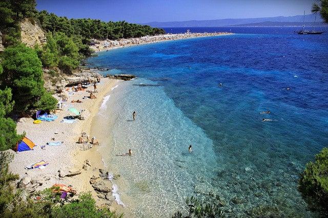 zlatni rat croatie - plus belle plage d europe - blog voyage GO Voyages