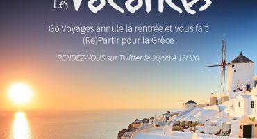 Go Voyages annule votre rentrée pour un #RetourVersLesVacances !
