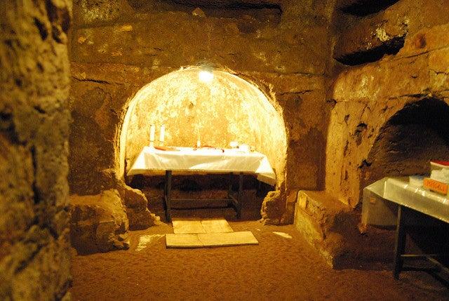 Catacombes Sainte Calixte Rome