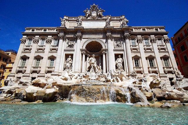 Fontaine Trévi Rome