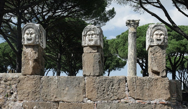Ostia Antica Rome - blog GO Voyages
