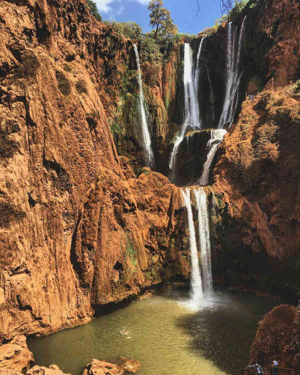 cascades naturelles - blog go voyages