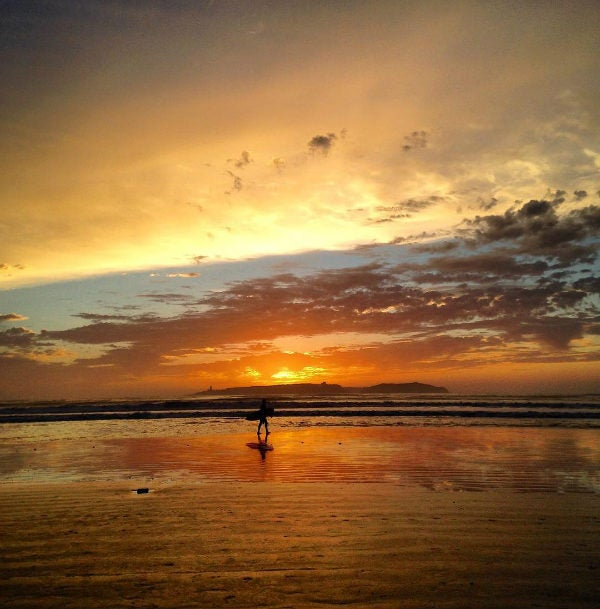 plage coucher de soleil - blog go voyages