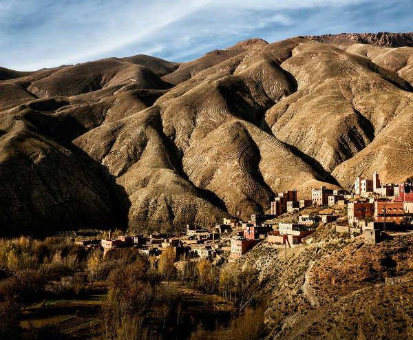 montagne paysage du haut atlas - blog go voyages