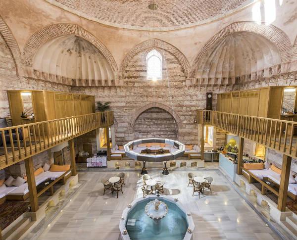 bain turc - blog go voyages
