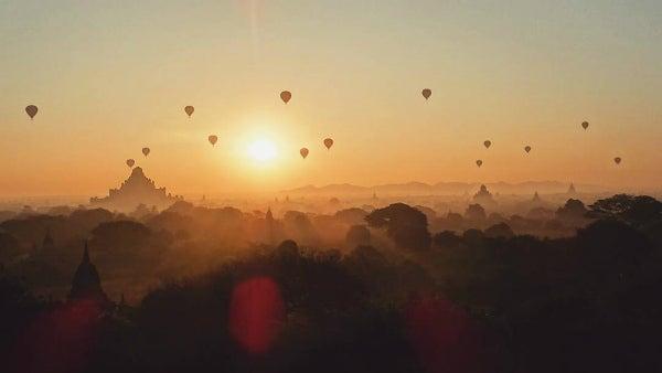 coucher de soleil bagan - blog go voyages