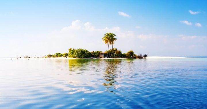 ile palmiers ciel bleu - blog go voyages