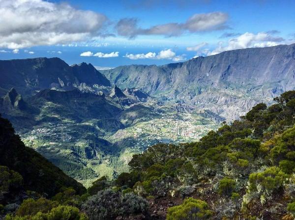 paysage montagne la reunion - blog go voyages
