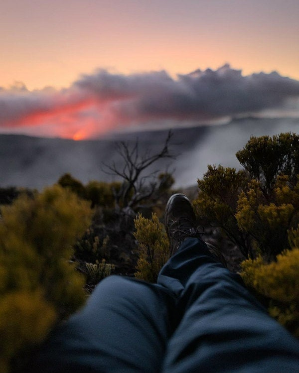 pieds volcan paysage - blog go voyages