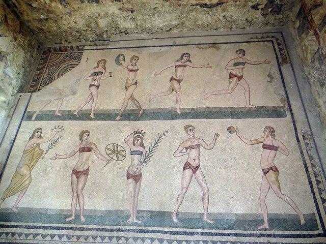 que faire en sicile villa romana del casale go voyages