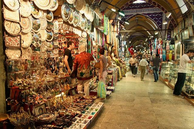 savoir negocier en voyage istanbul grand bazaar go voyages