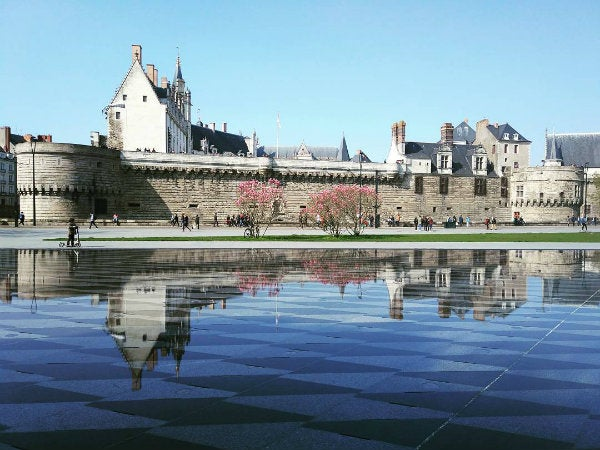 chateau medieval remparts nantes - blog go voyages