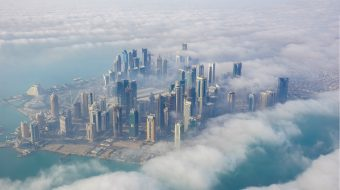 qatar vu du ciel - blog go voyages