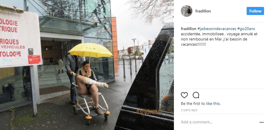 pluie jambe cassee - blog go voyages