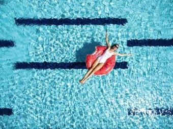 piscine bouée donut - blog go voyages