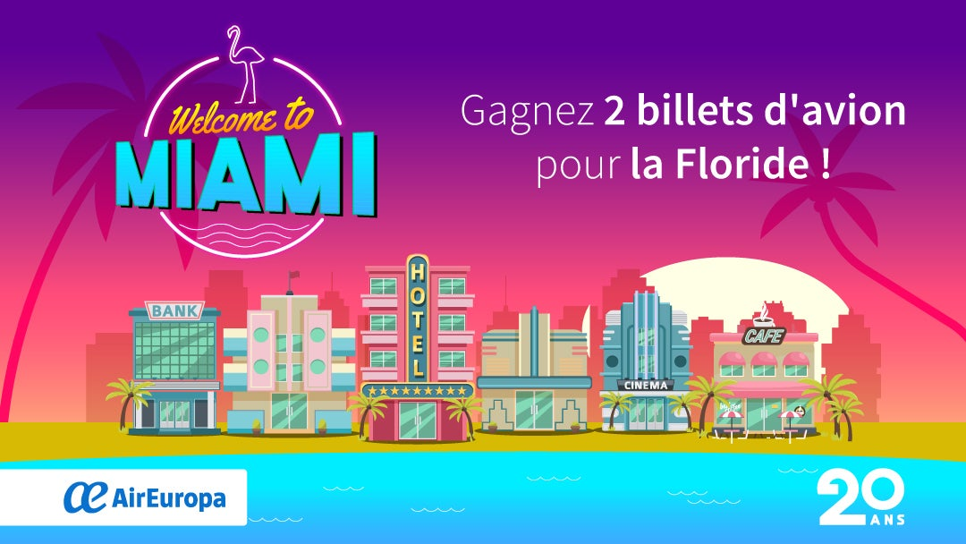 welcome to miami air europa - blog go voyages