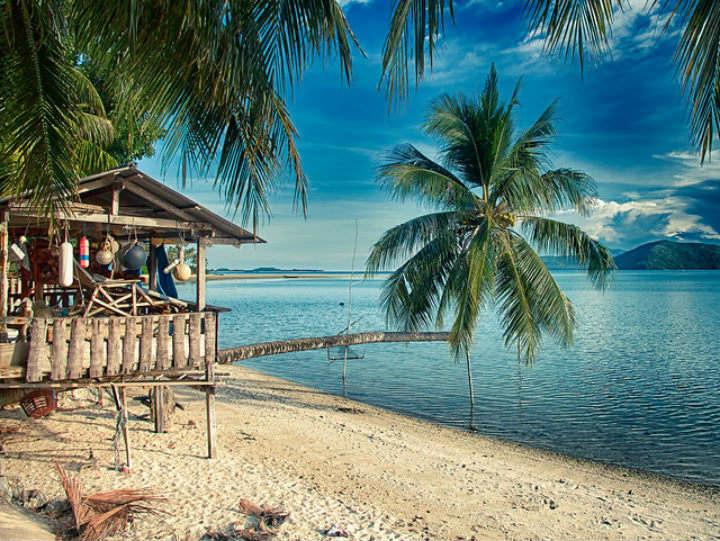 cabane plage thailande koh samui - blog go voyages